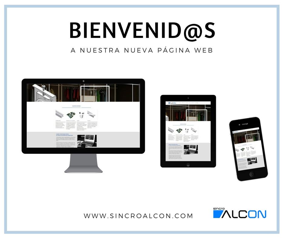 En SincroAlcon Estrenamos Nueva Página Web